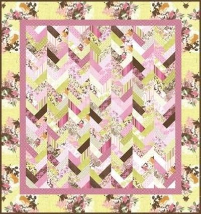French Braid Quilt Pattern Using Jelly Roll : jelly roll quilt: braid pattern ...is this too simple? / quilting fever - Juxtapost