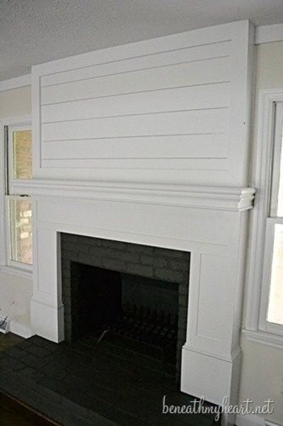 How to build a Fireplace Surround | Beneath My Heart (*D... / For ...