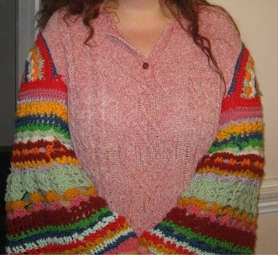 Molly Weasley Sweater Sleeves ~free pattern~