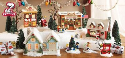 Department 56 has a Peanuts/Charlie Brown Christmas village ...