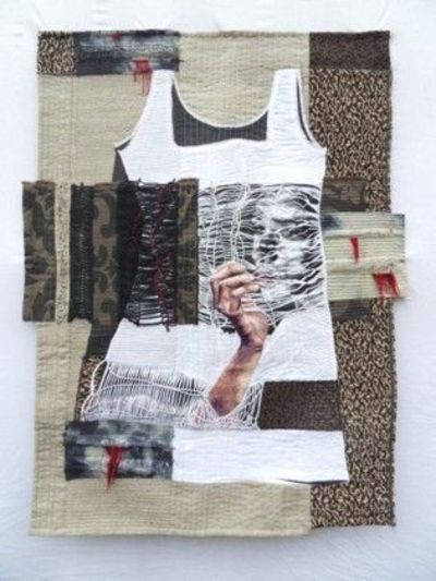 Genevieve Attinger / Tribute to the Past, ©2010 / art quilt