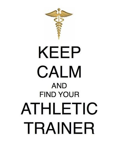 Woodalls Law Keep Calm And Find Your Athletic Trainer