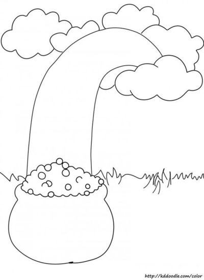 f rainbow coloring pages - photo#50