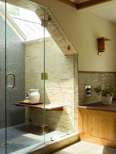 Dormer Window Shower Bath Ideas