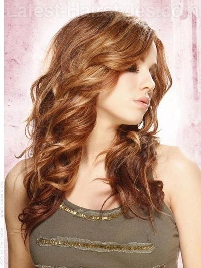 Hair Colors And Highlights With Copper Bronze And Gold  Dark Brown Hairs