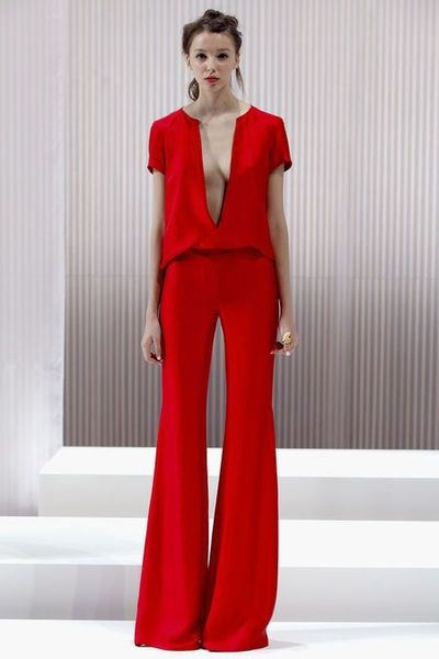 Collection Red Jumpsuits For Women Pictures - Reikian