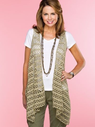 Free Crochet Patterns Vests Beginners : Bandolier Vest crochet pattern / crochet ideas and tips ...