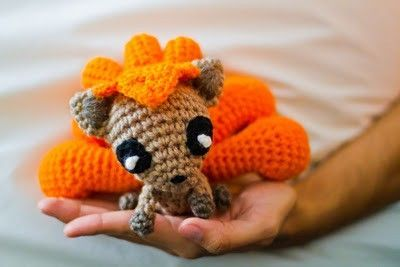 Amigurumi Pokemon Patterns Free : Pokemon vulpix ˜ free crochet pattern ˜ crochet ideas
