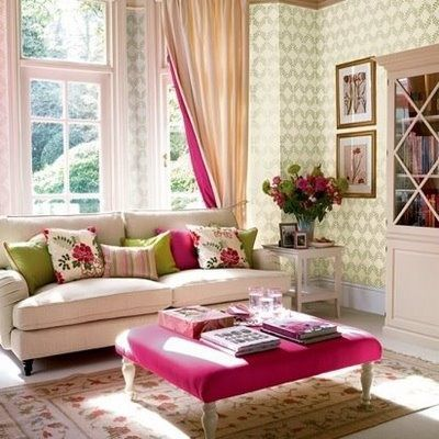 Neutral living room with color pops love for the home for Living room ideas neutral colors