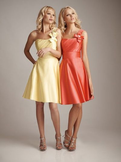 natural waist bridesmaid gowns