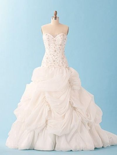 Alfred angelo belle disney wedding dress wedding ideas for Designer disney wedding dresses