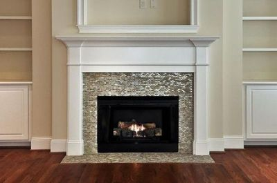Fireplace Surround In Mosaic Tile Decor Pad For The Home Juxtapost