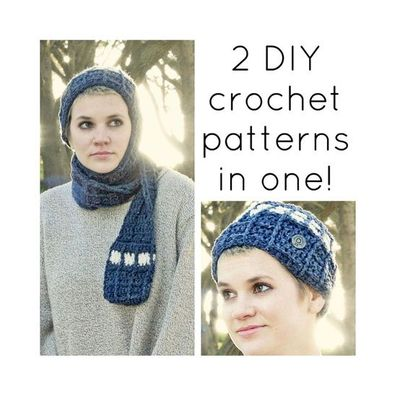 2 Pdf Crochet Patterns Tardis Doctor Who Inspired Beanie W