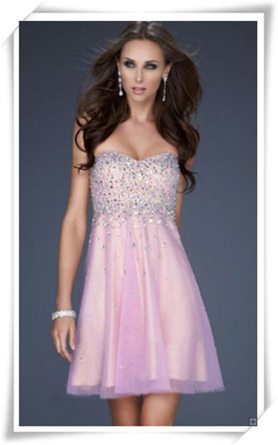 Pink Sequin Prom Dresses 2013 2013 Cotton Can...