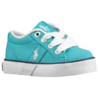 Polo Giles Toddlers Street Fashion Shoes Aqua