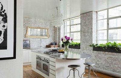 Keri Russell Home Via Elle Decor For My Kitchen Juxtapost