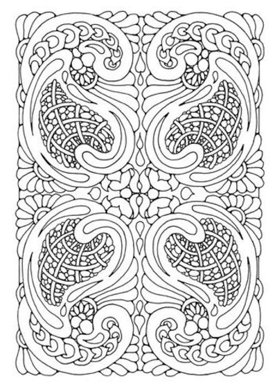 mandala coloring pages complicated love - photo#30