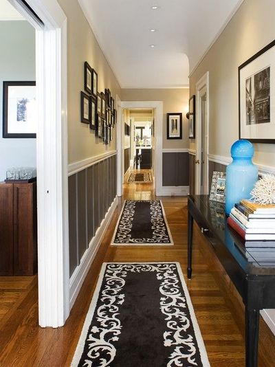 Long Narrow Foyer Designs : Ideas for a long narrow hallway the home juxtapost
