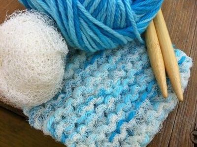 Knit a scrubbie (free pattern) / crochet ideas and tips - Juxtapost