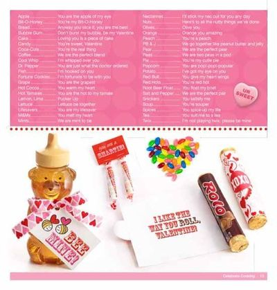 List of cute sayings to go with candy, etc. for valentines o... / nice ...