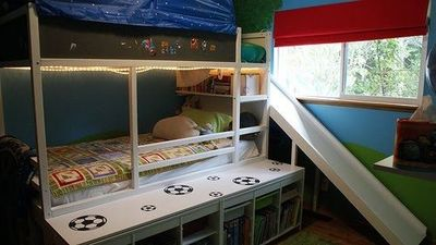 Ikea Hackers Kura Bed With Slide Baby Time Juxtapost
