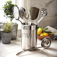 All-Clad Stainless-Steel 7-Piece Cooking Tool Set | Williams-Sonoma