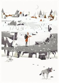 The Explorer by Johnny Kotze, via Behance