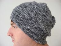 Brennius Hat from Ravelry. I made this hat for a friend...and now I LOVE it and almost don't want to give it away! My husband wants one, and I want one!