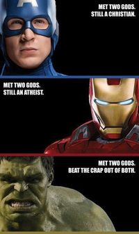 Avengers on Theism