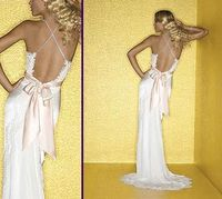 Backless wedding dress ~ elegant but so sexy ~