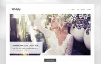 TK Freebie: Widely WordPress Theme Widely WordPress Theme is minimalistic theme perfect for for businesses, creatives, and individuals who want to quickly publish their portfolio and anyone else who's serious about having a simple, well designed web...