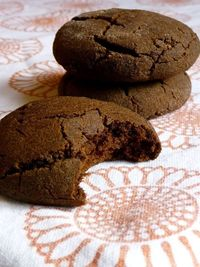 Gluten/Dairy/Egg/Nut/Soy/Refined Sugar-Free Molasses Cookies
