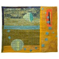 Art quilt by Judy Rush