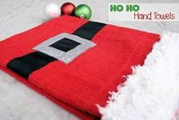 Ho Ho Hand Towels to hang from your oven handle in the kitchen