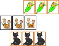 Free Halloween Same and Different Activity Winter Themed Speech Materials from Speaking of Speech - Pinned by