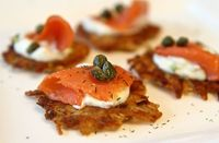 Average Betty makes Crispy Potato Galettes with Smoked Salmon! Thanks for the video, Betty!