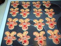 Gingerbread Reindeer. Another variation on the classic Gingerbread man.