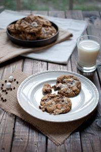 Marshmallow Chocolate Chip cookies