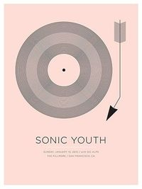 || sonic youth poster