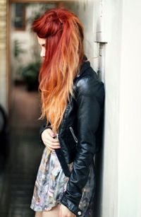Ombre Red Hair