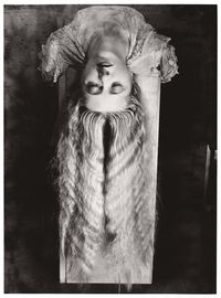 Man Ray, Woman with Long Hair