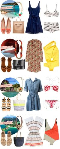 Destination Travel Outfits - we'll take them all!