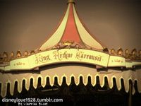 king arthur carrousel at disneyland