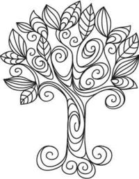 Doodle Tree | Urban Threads: Unique and Awesome Embroidery Designs