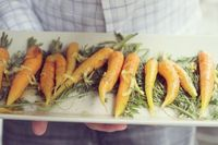 Carrots with Caramelized Ginger