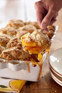 Peach and Cinnamon Cobbler - Spectacularly Southern, this cobbler is easier than pie! You may want to have some vanilla ice cream on hand, particularly if you are serving this warm,