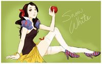Snow White by michA-sAmA.deviantart.com