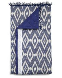 ikat throw blanket