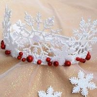 Snowflake Crown...yes!