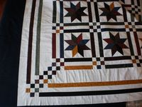 Quilt, Knit, Run, Sew: Lemoyne Star Quilt top - done